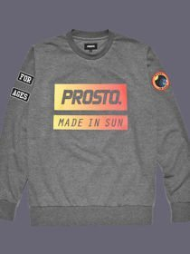 Bluza Klasyk PROSTO MADE IN SUN szary