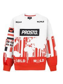 Bluza Klasyk PROSTO WORLD STRIPES WWO Sokół