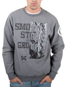 Bluza SSG klasyk SMOKE STORY GROUP HALF BLOCK