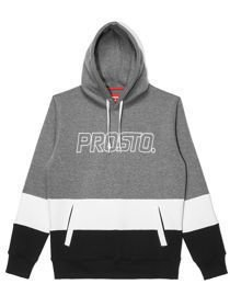 Bluza kaptur PROSTO DOWNSTAIRS szara
