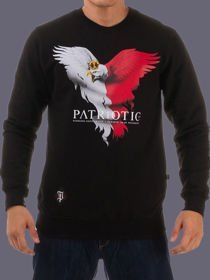 Bluza klasyk PATRIOTIC EAGLE NEW czarna