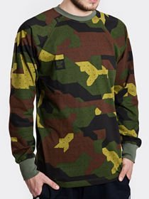 Longsleeve Stoprocent TAG CAMU GREEN moro