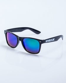 OKULARY NEW BAD LINE CLASSIC BLACK FLASH GREEN MIRROR 500