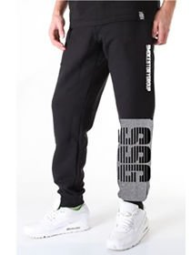 Spodnie dres jogger SSG SMOKE STORY GROUP ONE SIDE LINES czarne