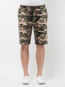 Szorty MASS chino Classics straight fit woodland camo