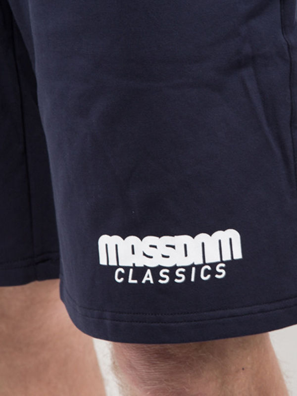 Szorty MASS Base regular fit CLASSICS granatowe