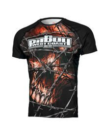 Koszulka PIT BULL Mesh Performance Wired Skull