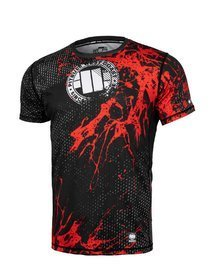 Koszulka PIT BULL Rashguard Blood Dog Pitbull