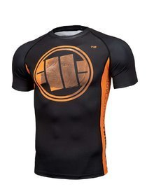 Koszulka PIT BULL Rashguard Orange Dog Pitbull
