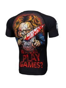 Koszulka PIT BULL Rashguard Wanna Play Games