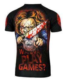 Koszulka PITBULL Rashguard Wanna Play Games