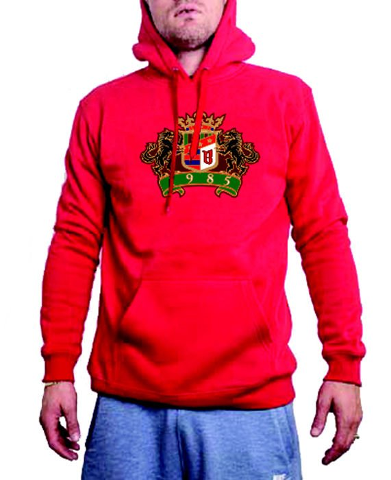 BOR New Kwadrat Bluza z Kapturem L [PALUCH] www