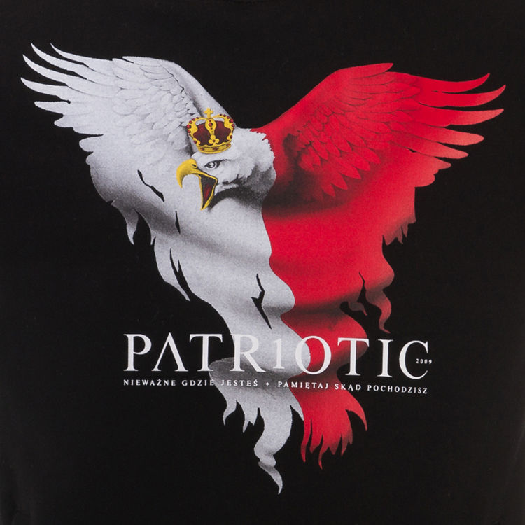 Bluza PATRIOTIC klasyk POLAND EAGLE NEW
