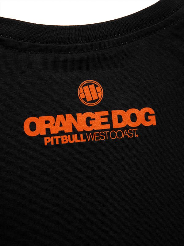 Koszulka Pit bull Orange Dog PitBull