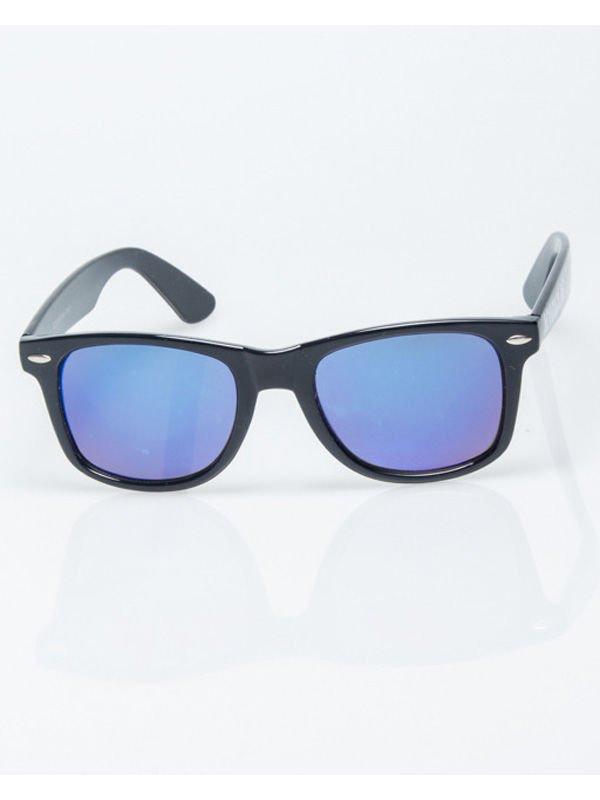 OKULARY CLASSIC FLASH BLUE MIRROR 029