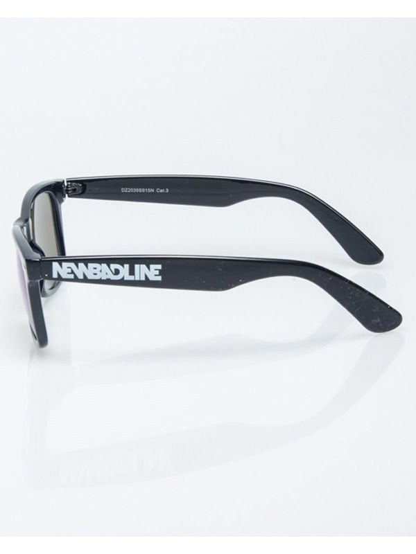OKULARY NEW BAD LINE CLASSIC BLACK BLUE MIRROR